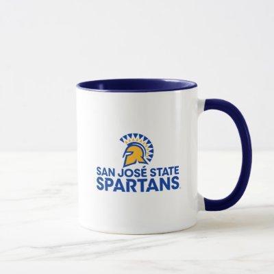 San Jose State Spartans Logo Wordmark Mug