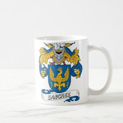 Sanchez Family Crest Coffee Mug
