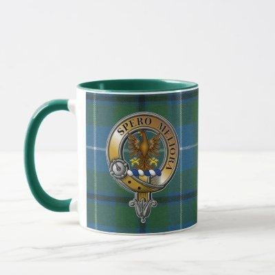 Sandilands Tartan & Badge Mug