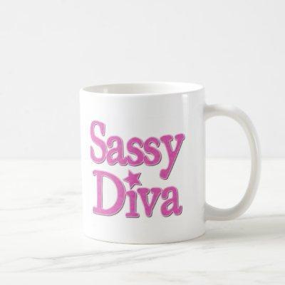 Sassy Diva Coffee Mug