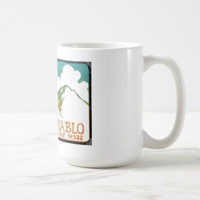 Save Mount Diablo Vintage Logo Mug