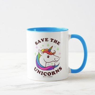 Save The Unicorns Mug