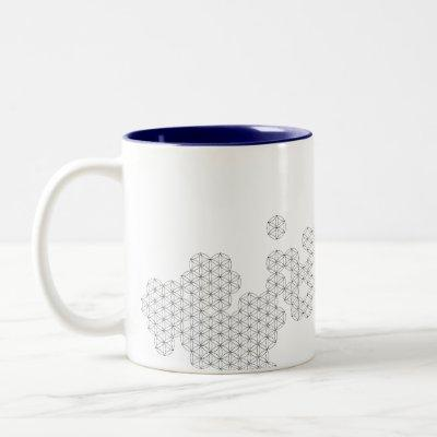 Saybrook 'Flower of Life' Coffee Mug