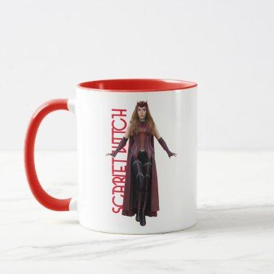 Scarlet Witch Character Art Mug