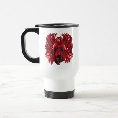 Scarlet Witch Graphic Travel Mug