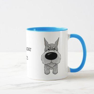 Schnauzer Mom Mug