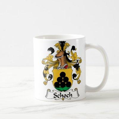 Schoch Family Crest Coffee Mug