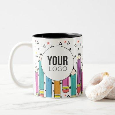 School Doodle Logo Mug