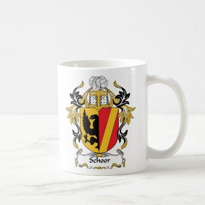 Schoor Family Crest Coffee Mug