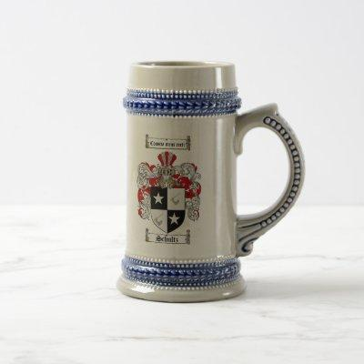 Schultz Coat of Arms Stein