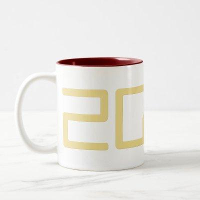 Sci-Fi Geek Nerd 2022 New Year Coffee Tea Milk Mug