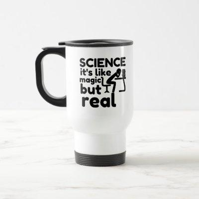 science like magic but real travel mug