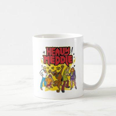 "Scooby-Doo | ""Heavy Meddle"" Graphic Coffee Mug"