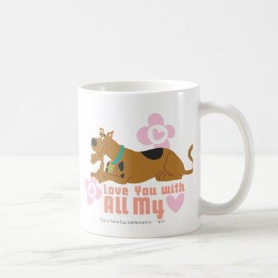 "Scooby-Doo ""Love You With All My Heart"" Coffee Mug"
