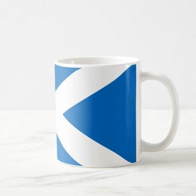 Scotland Flag Saltire Coffee Mug