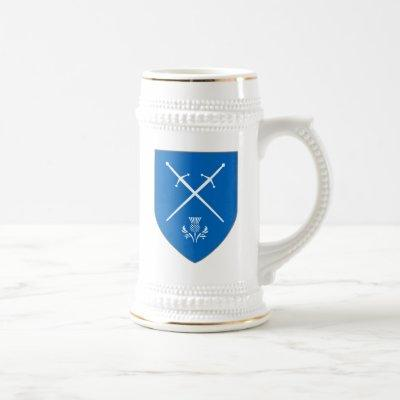 Scotland Stein - Swords & Thistle