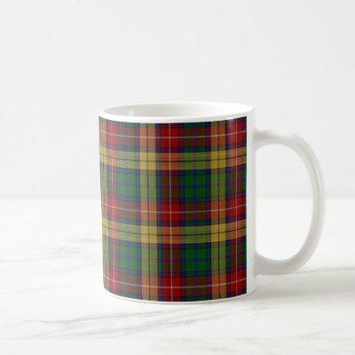 Scottish Clan Buchanan Tartan Coffee Mug