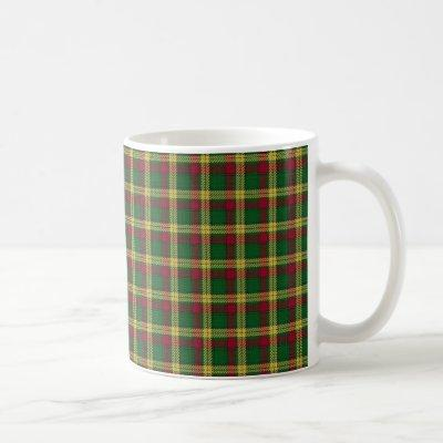 Scottish Clan MacMillan Tartan Coffee Mug