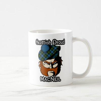 Scottish Clan MacNeil Tartan Scottish Coffee Mug