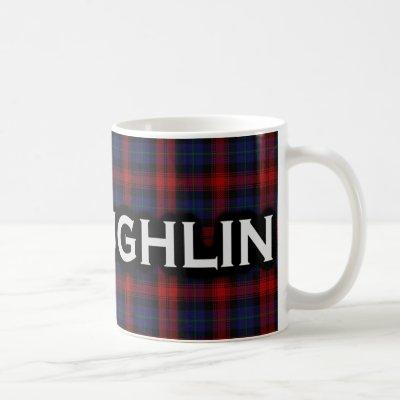 Scottish Clan McLaughlin MacLachlan Tartan Coffee Mug