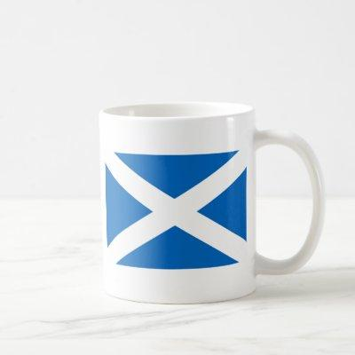Scottish Flag Coffee Mug