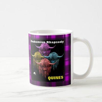 Scottish Highland Cow. Moohemian Rhapsody Coffee Mug