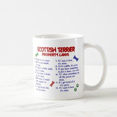 SCOTTISH TERRIER PL2 COFFEE MUG
