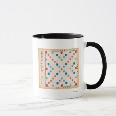 Scrabble Vintage Gameboard Mug