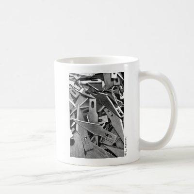 """Scratchboard Boneyard"" Mug"
