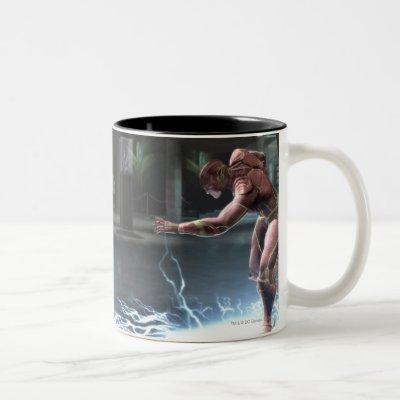 Screenshot: Nightwing vs Flash Two-Tone Coffee Mug