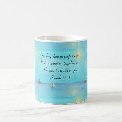 Scripture verse mug