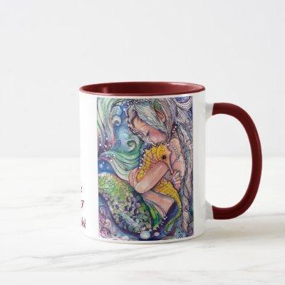 SeaHorse Hugs Mug
