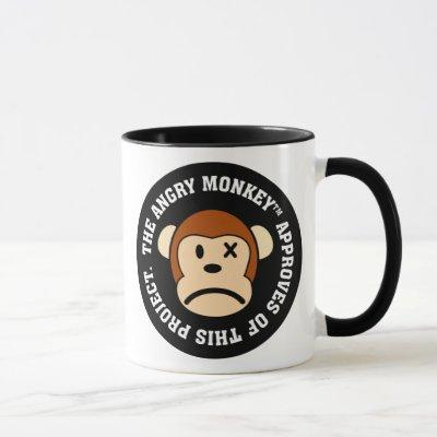 Seal of Approval: Project endorsed by Angry Monkey Mug