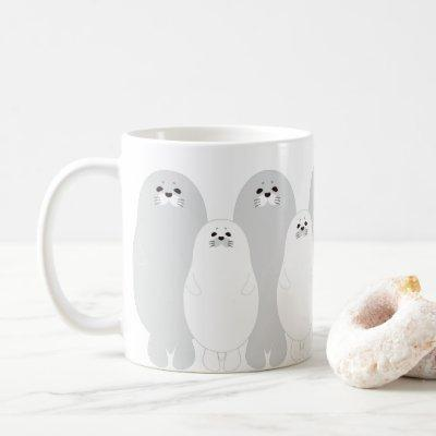 seal parent coffee mug