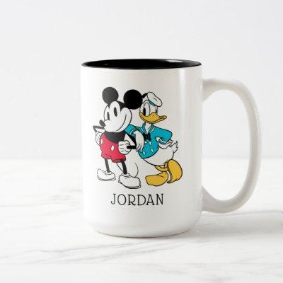 Sensational 6  | Mickey Mouse & Donald Duck Two-Tone Coffee Mug