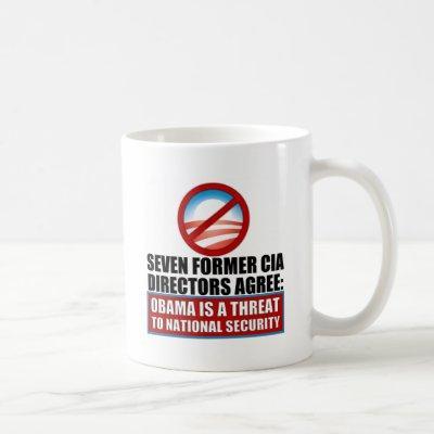 Seven Former CIA Directors Coffee Mug