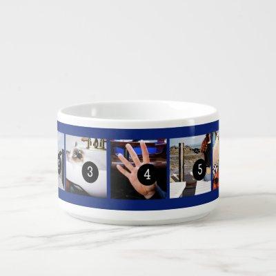 Seven of Your Photos to Make Your Own Momento Bowl