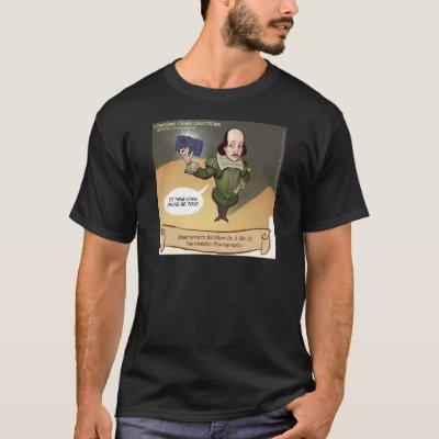Shakespeare Takes Selfie Funny T-Shirt