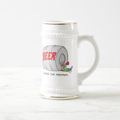 Share The Fantasy Beer Stein
