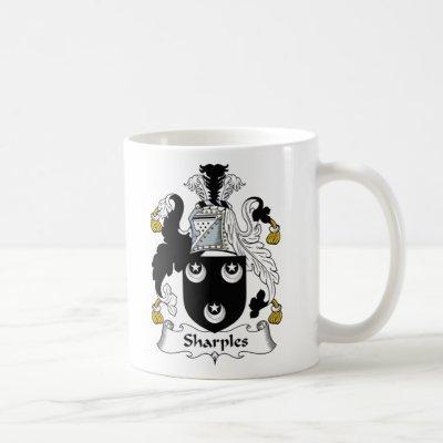 Sharples Family Crest Coffee Mug