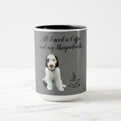 Sheepadoodle Coffee Mug