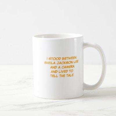 Sheila Jackson Lee Souvenir Coffee Mug