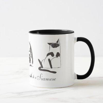 Siamese Ringer Mug