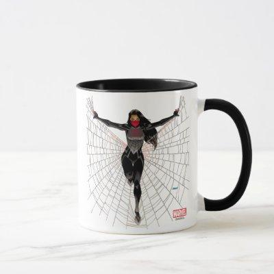 Silk In Web Mug