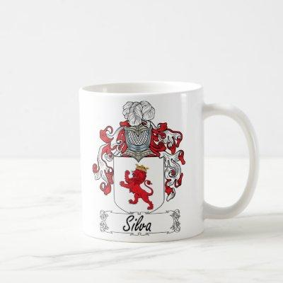 Silva Family Crest Coffee Mug