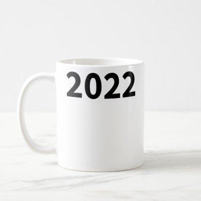 Simple Year 2022 Coffee Mug