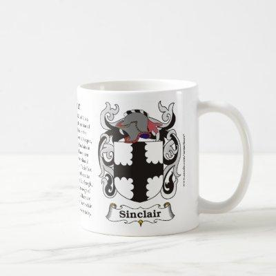 Sinclair, Origin, Meaning and the Crest Coffee Mug