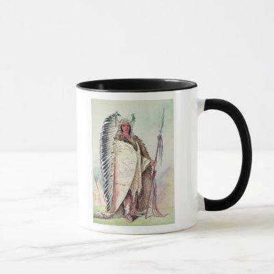 Sioux chief, 'The Black Rock' Mug