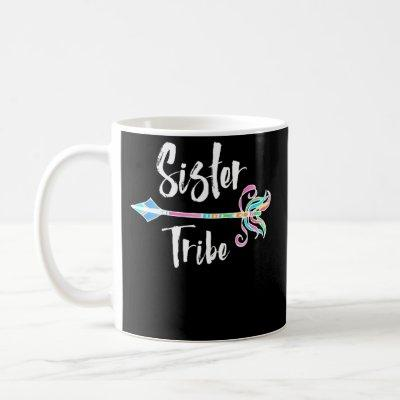 Sister Tribe Tribal Arrow Bright Colors Coffee Mug
