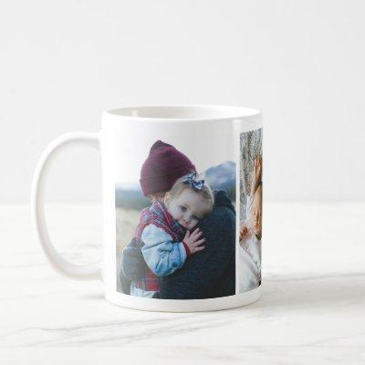 Sleek Custom Personalized Photo Mug